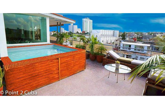 RHPLZOF07 3BR Vedado Luxury Penthouse
