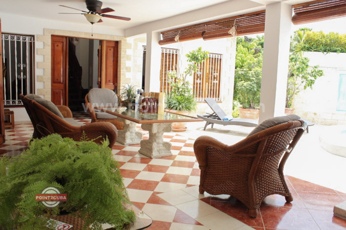 RHPLC08 3BR Siboney rental with swimming pool