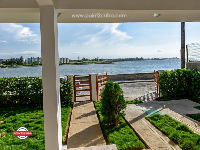RHPLLB10 2BR Ocean Front Rental House in Miramar Havana