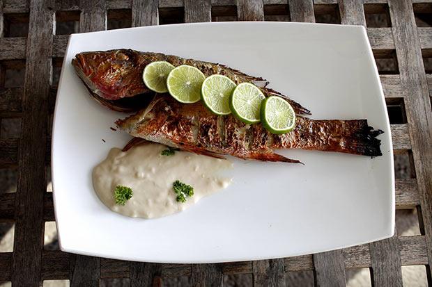 Baked Fish Vistamar Paladar