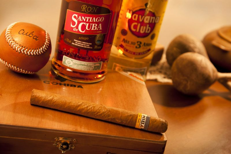 Nothing better than a Cuban rum and a great world-class cigar