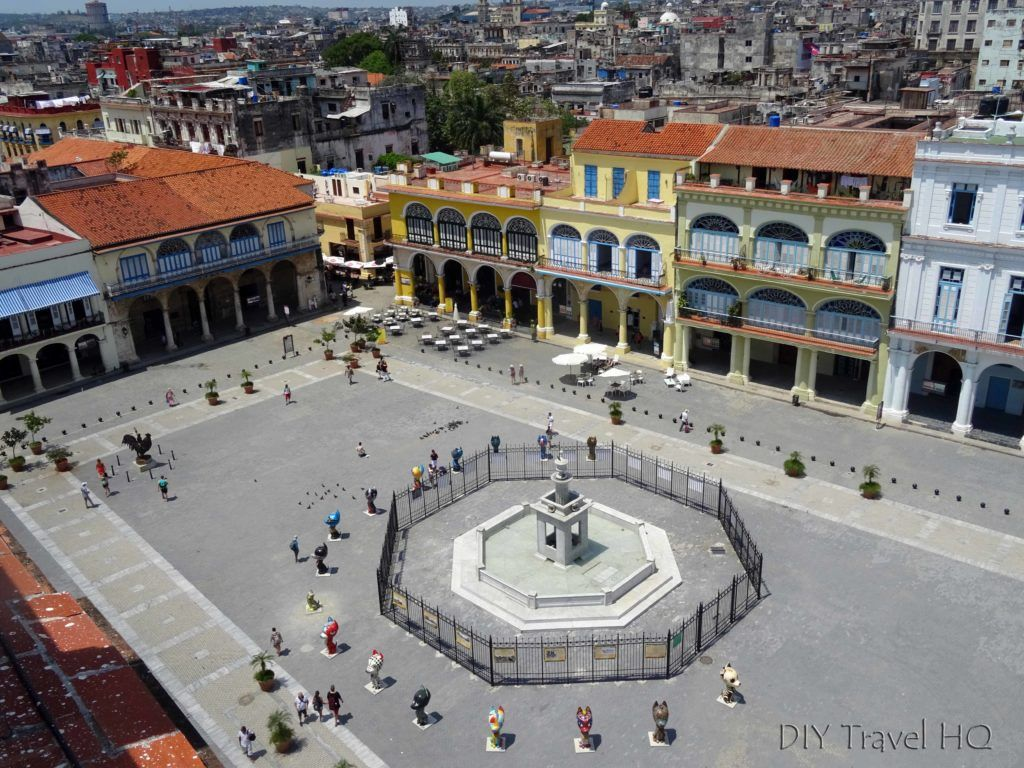 Old Square in Havana