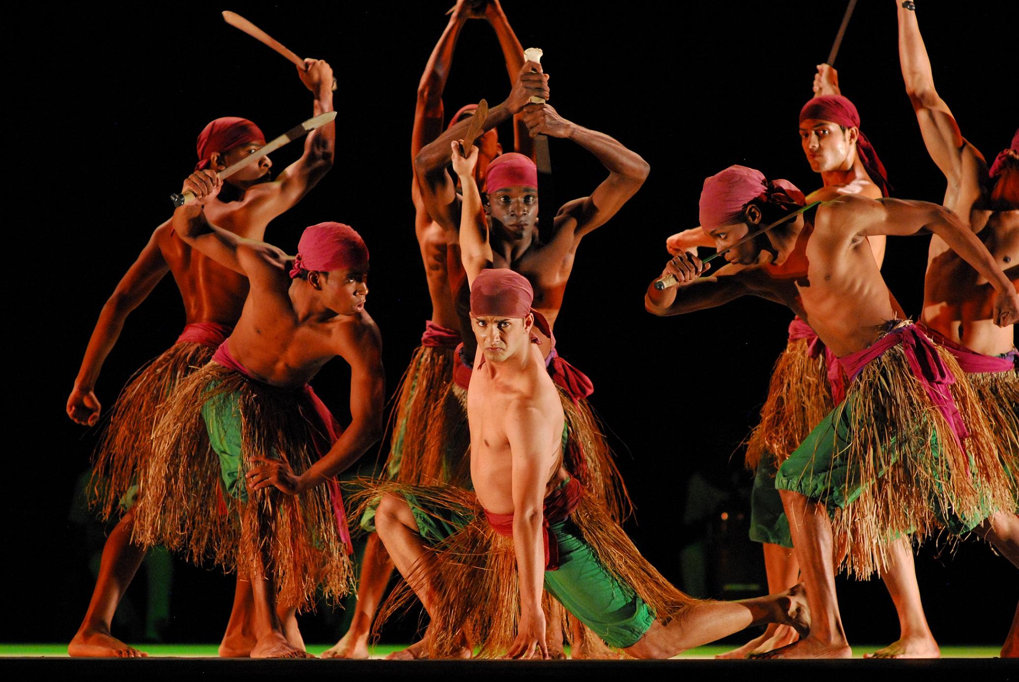 Folklore dance Cuba