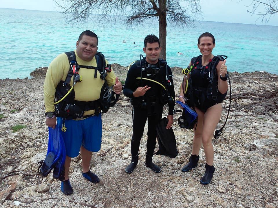 Divers in Varadero