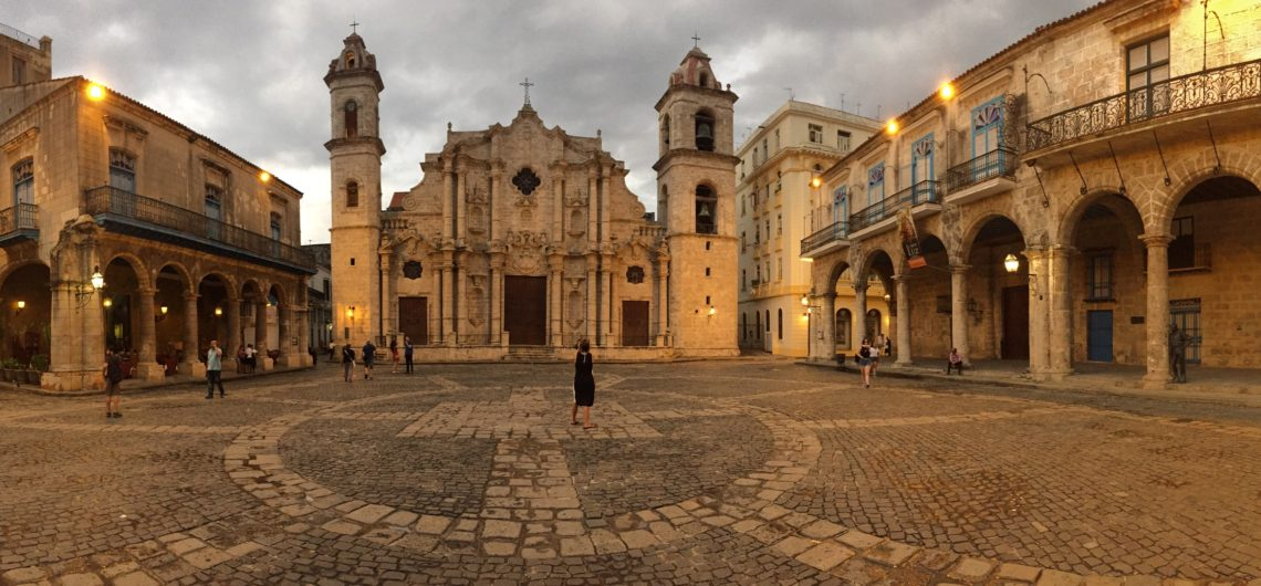 The Cathedral Square in Havana