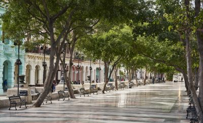 The fabulous scene of Havana's Paseo del Prado