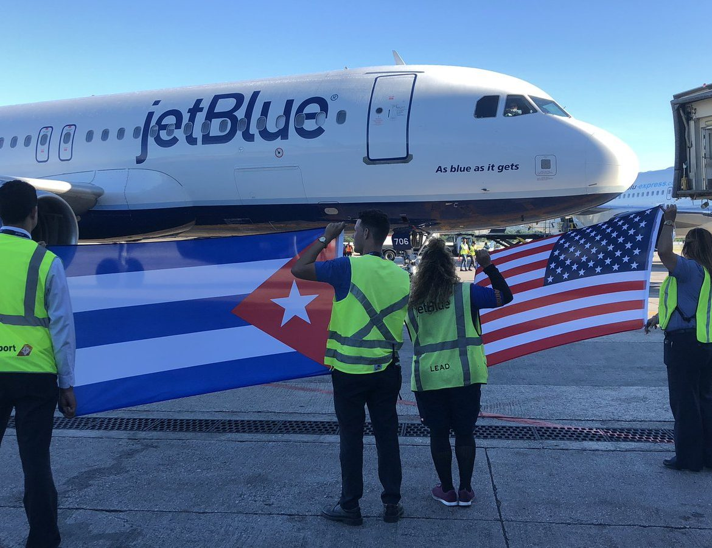 JetBlue inaugurates route from Boston to Cuba's capital