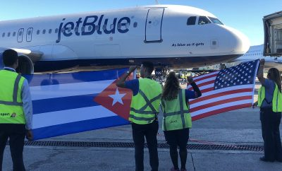 JetBlue inaugurates route from Boston to Cuba's capital