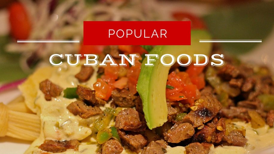 TOP 5 CUBAN DISHES TO TRY